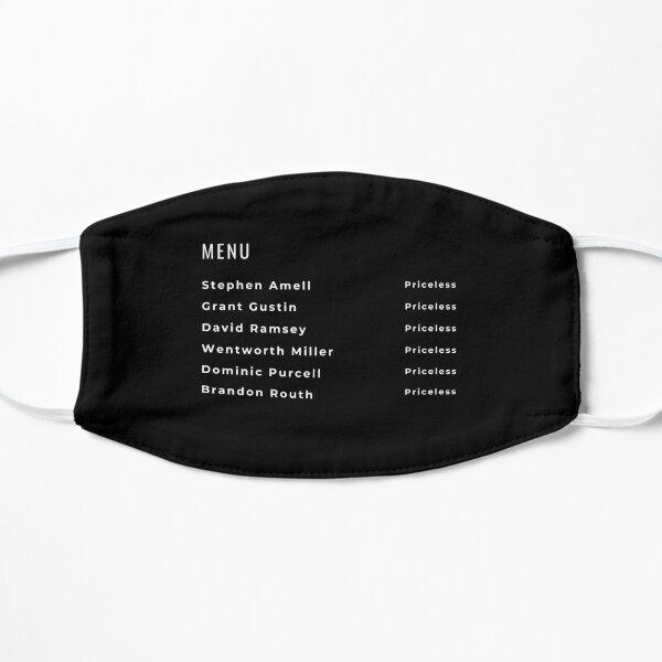 Cafe Menu for Hot Celebrities Mask