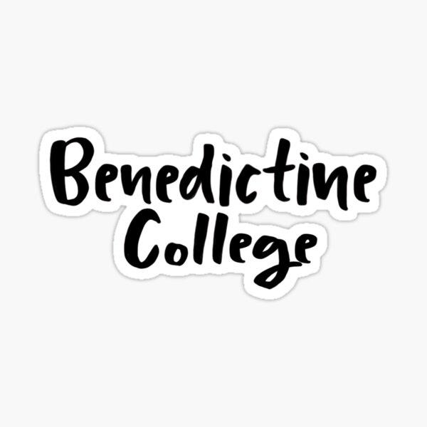 Benedictine College Sticker
