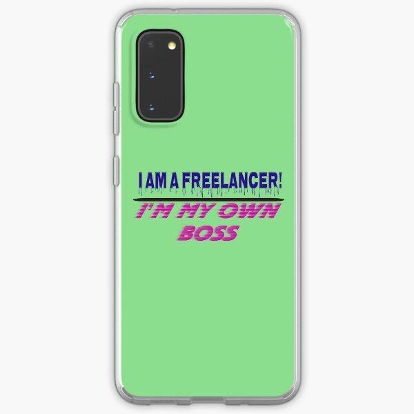 I am a Freelancer Samsung Galaxy Soft Case