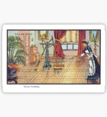 Early 20th Century images of France in 2000 - Automated Cleaning Sticker
