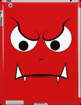 Evil Face by Rastaman