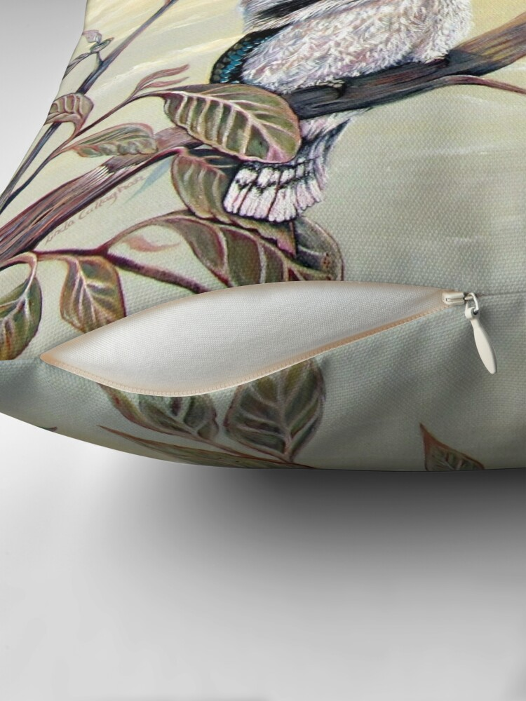 Alternate view of Kookaburra Magic Throw Pillow