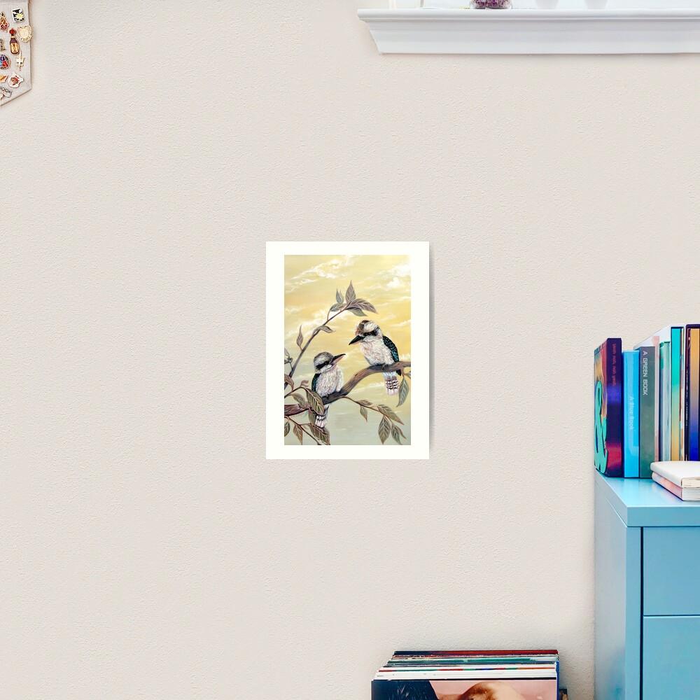 Kookaburra Magic Art Print