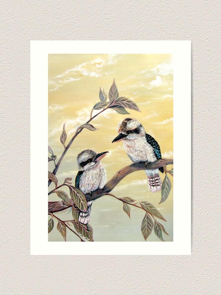 Alternate view of Kookaburra Magic Art Print