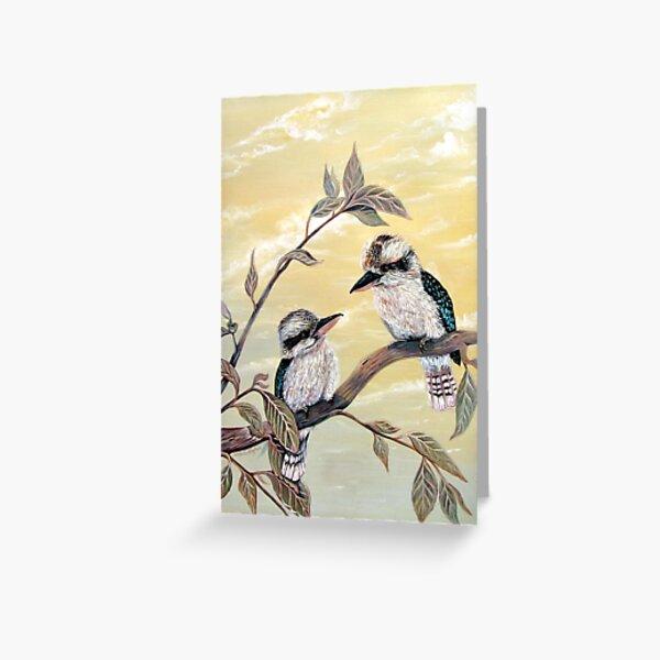 Kookaburra Magic Greeting Card