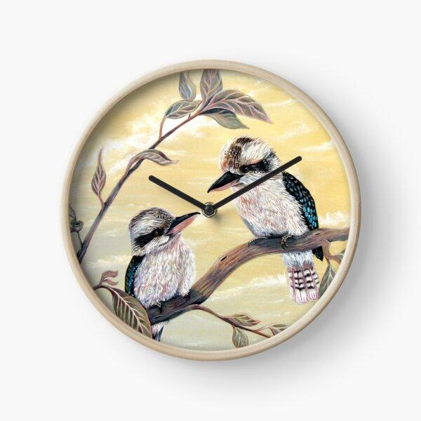 Kookaburra Magic Clock