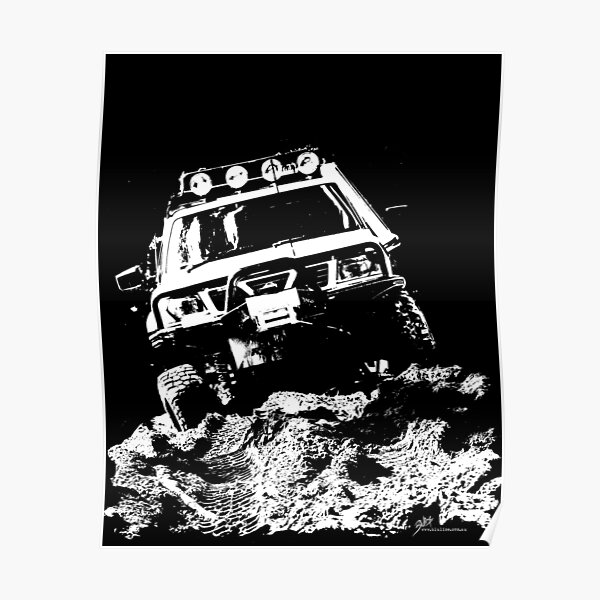 Nissan Patrol GU Poster