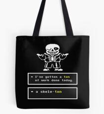 Undertale - Sans Skeleton - Undertale T shirt Tote Bag