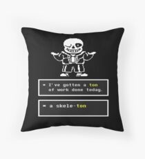 Undertale Quote Pillows & Cushions | Redbubble