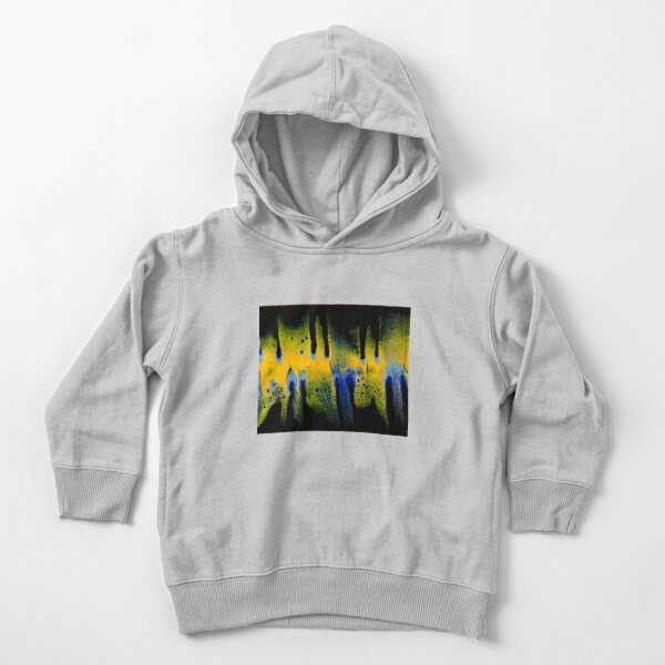 Ghost pour painting Toddler Pullover Hoodie