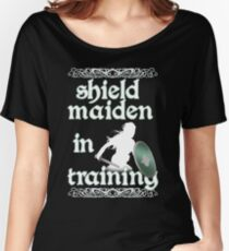 Shield Maiden in Training - Vikings Women's Relaxed Fit T-Shirt