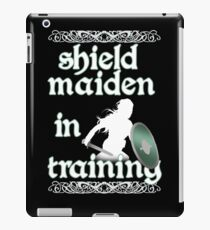 Shield Maiden in Training - Vikings iPad Case/Skin