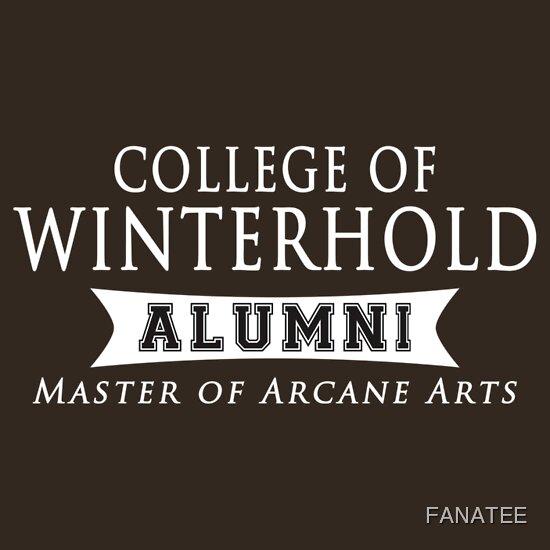 TShirtGifter presents: Winterhold Alumni | Unisex T-Shirt