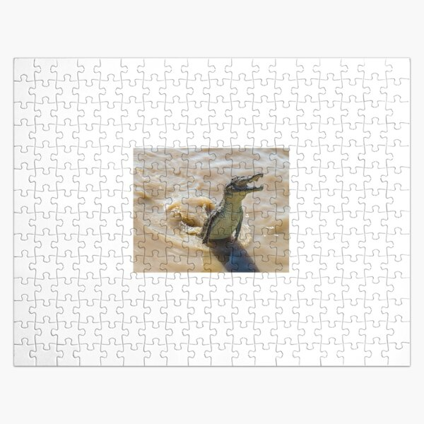 Jumping Crocodile, Northern Territory, Australia Jigsaw Puzzle