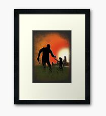 Lee and Clementine Framed Print