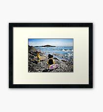 Surf's Up! (1 of 3) Framed Print