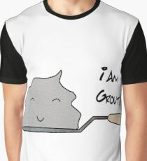 I Am Grout! - Guardians Of The Galaxy (Kinda) Graphic T-Shirt