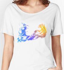 Final Fantasy 10 logo X Women's Relaxed Fit T-Shirt