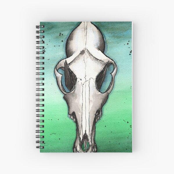 Coyote Skull #1 Spiral Notebook