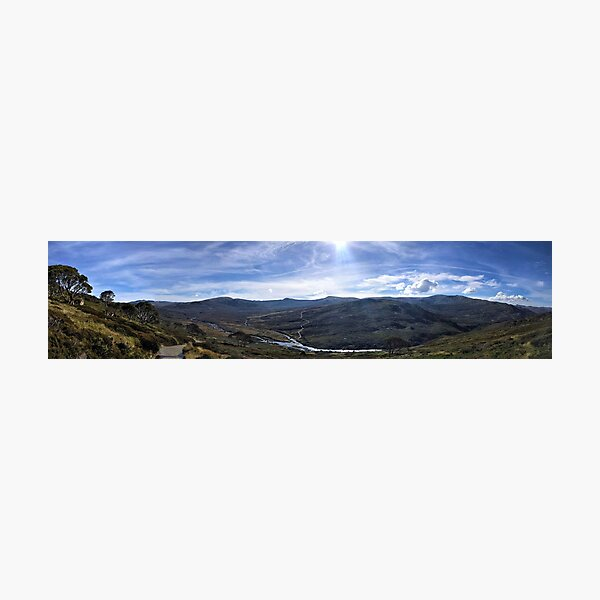 Mt Kosciuszko Panorama Photographic Print