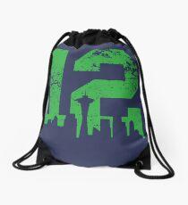 Seattle City of 12 Drawstring Bag
