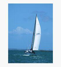 Sailing the Waitemata Photographic Print