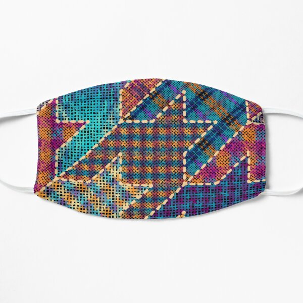 Canvas patchwork Mask