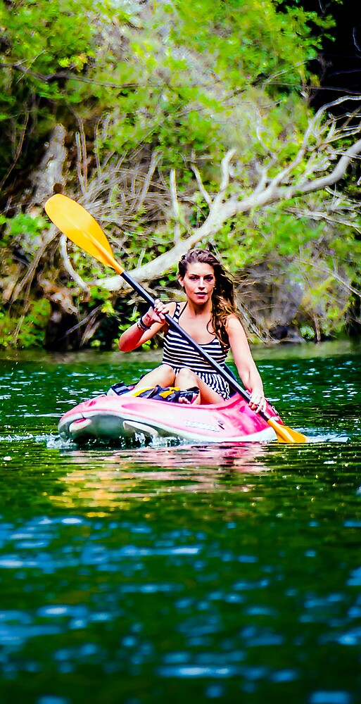 Canoe For Girls by Sotiris Filippou
