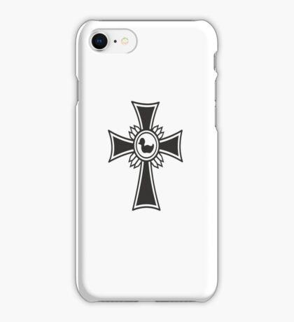 The Iron Duck Cross VRS2 iPhone Case/Skin