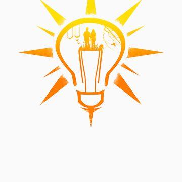 Lightbulb Sun by DZLV