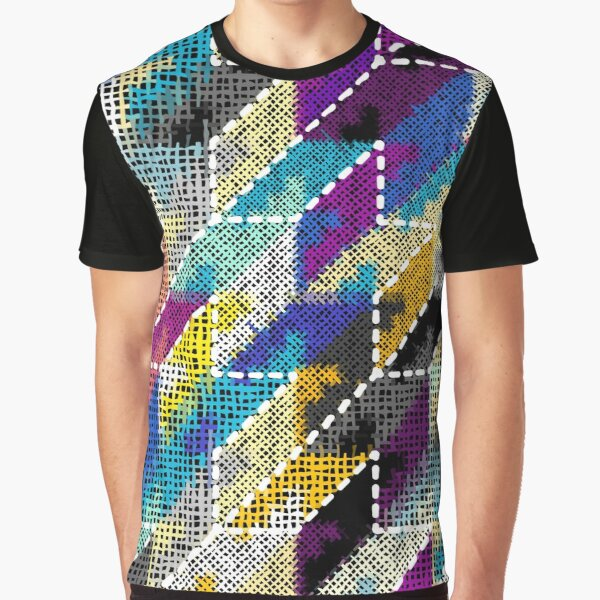 Canvas Graphic T-Shirt