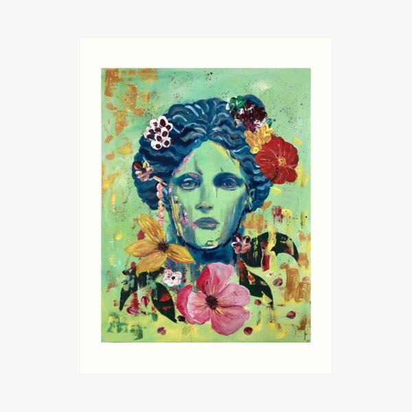 Beauty is a curse Art Print