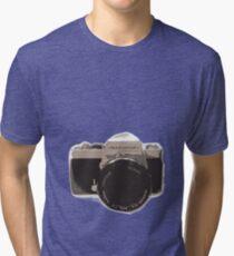 35mm vintage camera Tri-blend T-Shirt