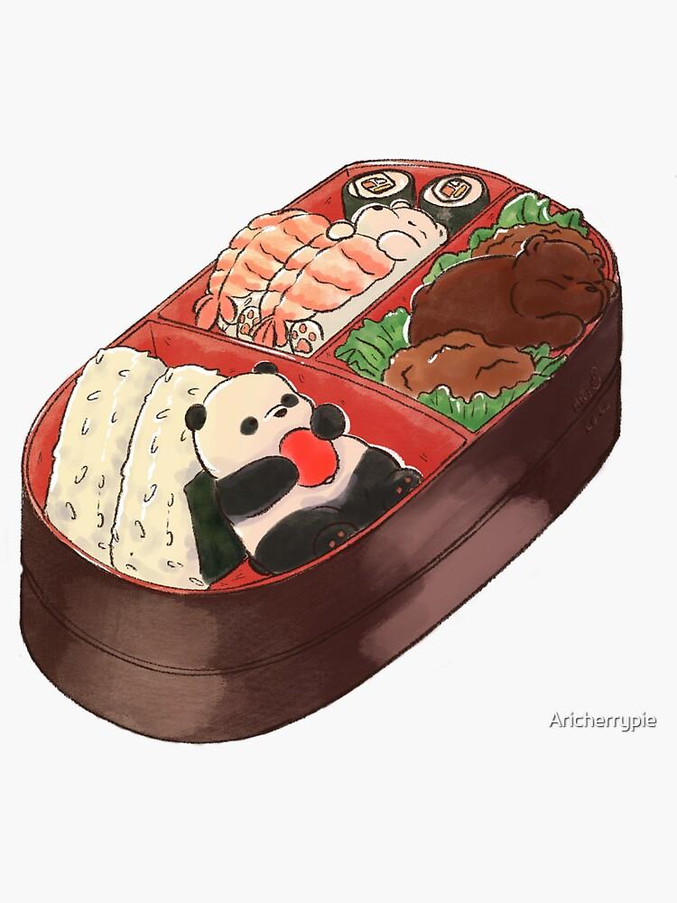 Bear Bento Box by Aricherrypie