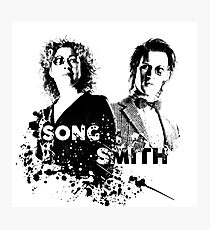 The Doctor & River Song  Photographic Print