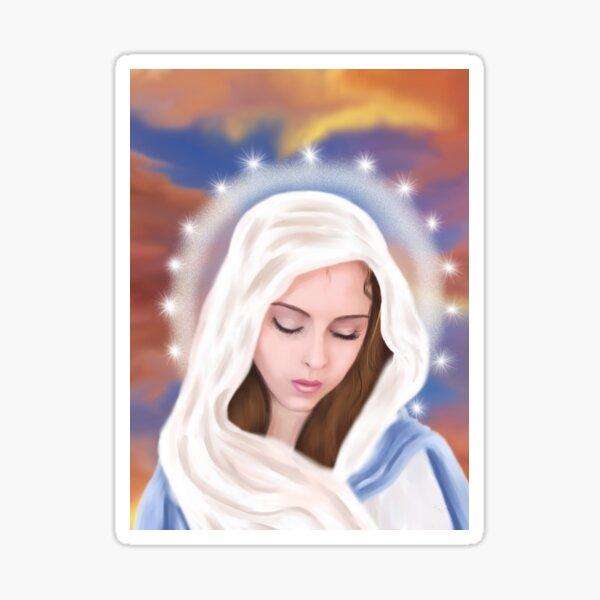 Jungfrau Maria Sticker