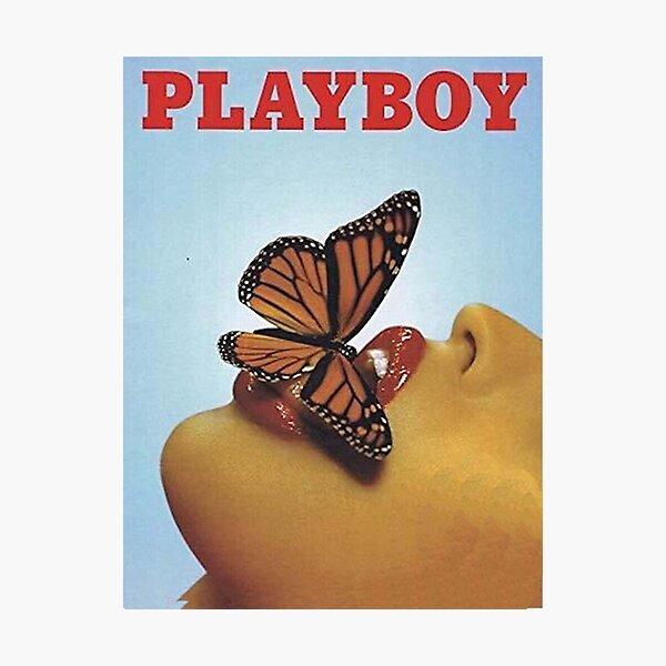 Playboy bleu vintage Impression photo