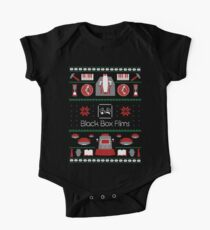 Black Box Films Christmas Sweater (Red & Green) One Piece - Short Sleeve