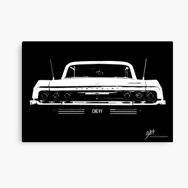 BIG AS Chevy Impala © Canvas Print