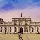 La Moneda.    Palacio de Gobierno.    Santiago de Chile. by cieloverde