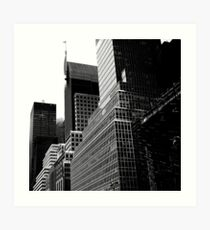 Lámina artística NY Cityscape