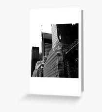 Tarjeta de felicitación NY Cityscape