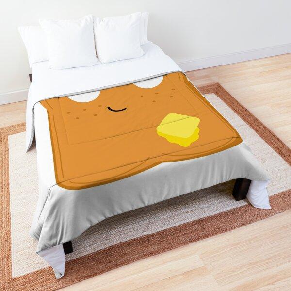 Happy toast Comforter