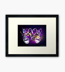 Rad Kicks Framed Print