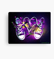 Rad Kicks Canvas Print