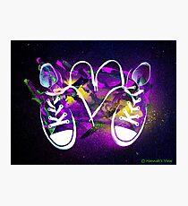 Rad Kicks Photographic Print