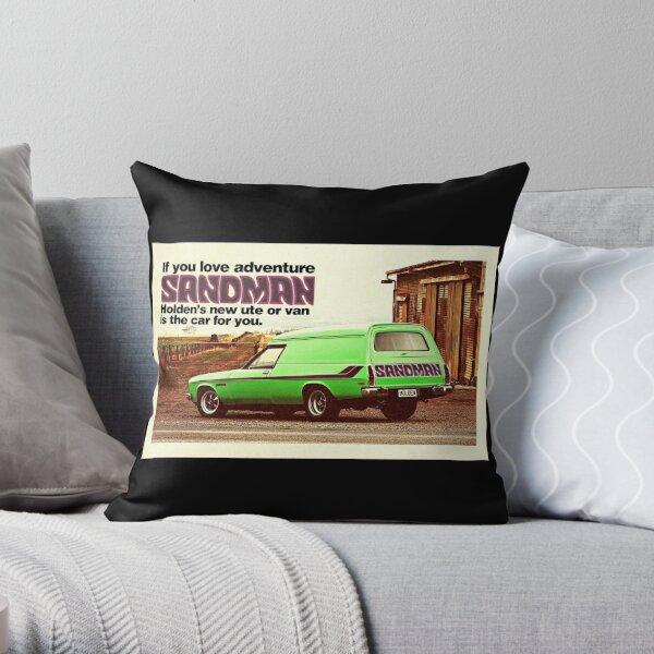 Holden Sandman Panel Van - Nostalgic © Throw Pillow