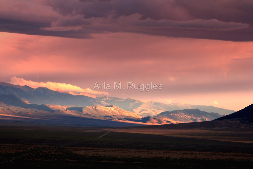 Gentle Evening by Arla M. Ruggles