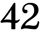 42 by Brant