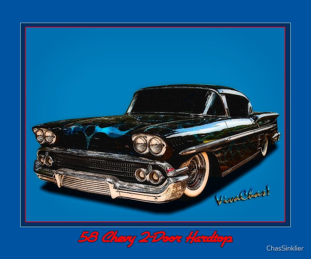 58 Chevy 2-Door Hardtop by ChasSinklier